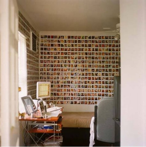 Id es d co polaroid forum polaroid passion le site - Mur photo polaroid ...