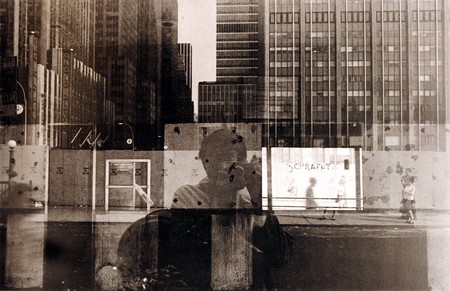 Lee Friedlander New York City, 1968, Self Portrait