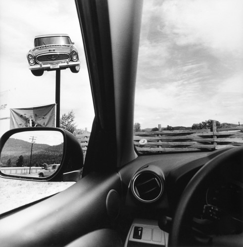 Lee Friedlander, Montana, 2008car
