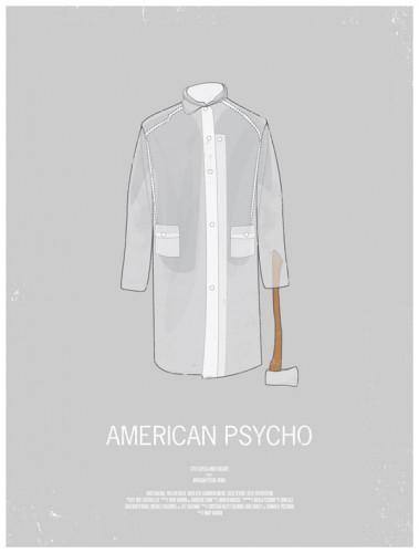american psycho affiche