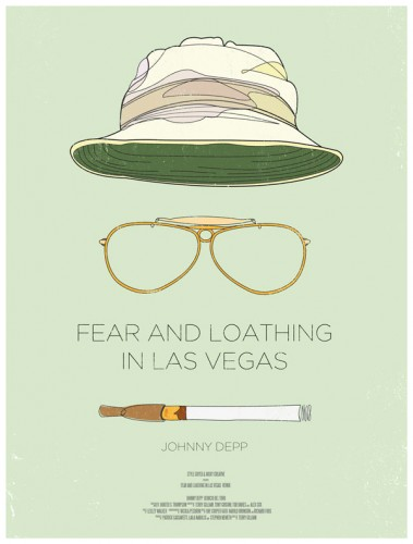 fear and loathing in las vegas affiche