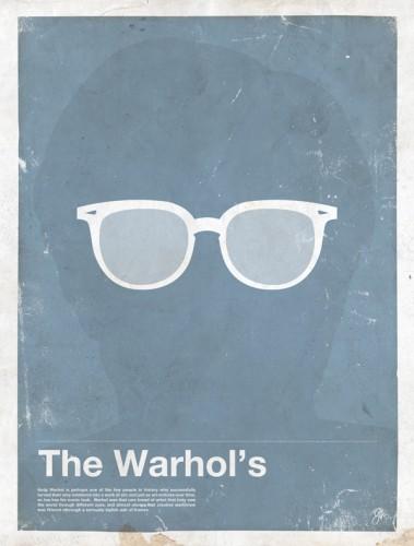 framework-Andy Warhol lunettes