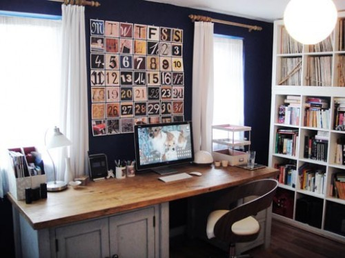 30 idées et inspirations de décoration pour la pièce du bureau