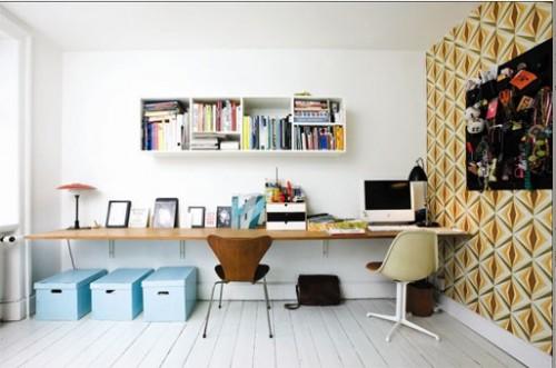 Idées et inspirations de décoration pour la pièce du bureau