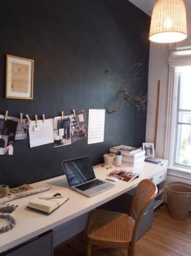 30 id es et inspirations de d coration pour la pi ce du bureau 25 juin 2012 un regard certain. Black Bedroom Furniture Sets. Home Design Ideas