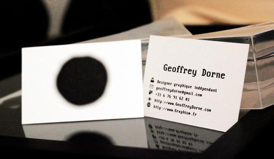 Connu Des cartes de visite créatives ! - 5 juin 2012 - Un regard certain OK21