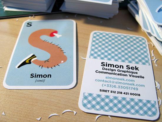 Simon Sek Design Graphique Communication Visuelle Carte De