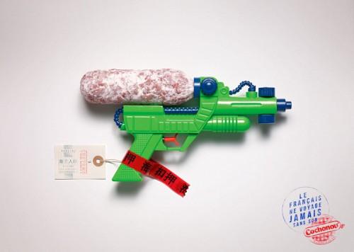 pistolet - pub Cochonou