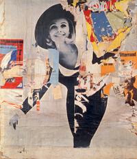 "Rue Desprez et Vercingétorix, ""La Femme"", 12 mars 1966, 251x224cm"