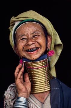 Steve McCurry, portrait d'une femme