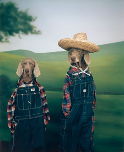 William Wegman, Farmer and Son, 1994 2009