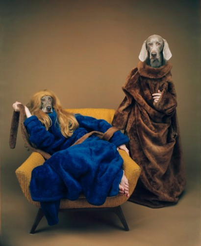 William Wegman Mother Daughter 1994 2009